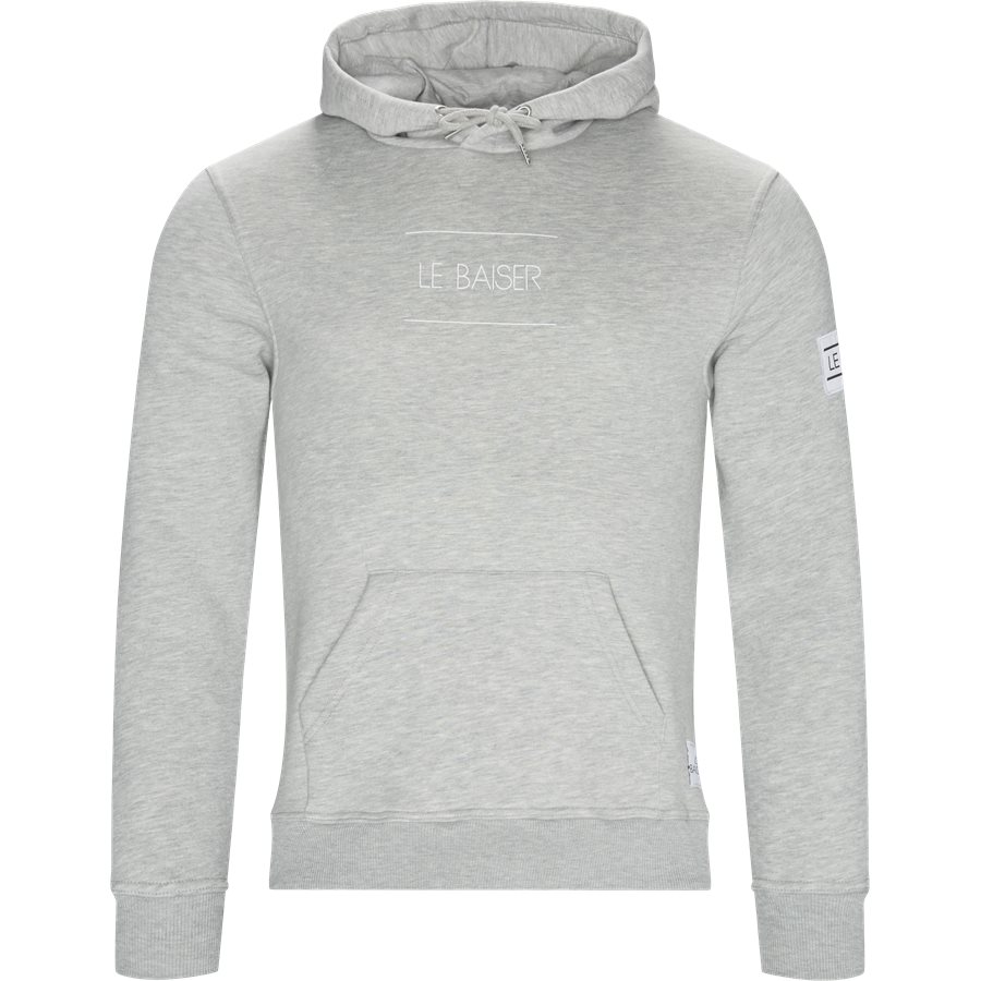 NANCY - Nancy Sweatshirt - Sweatshirts - Regular - GREY MELANGE - 1